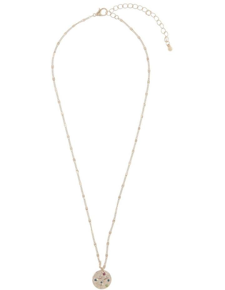 Zodiac Pendant Necklace - Taurus image 2