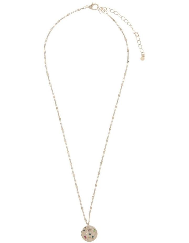 Zodiac Pendant Necklace - Gemini image 2