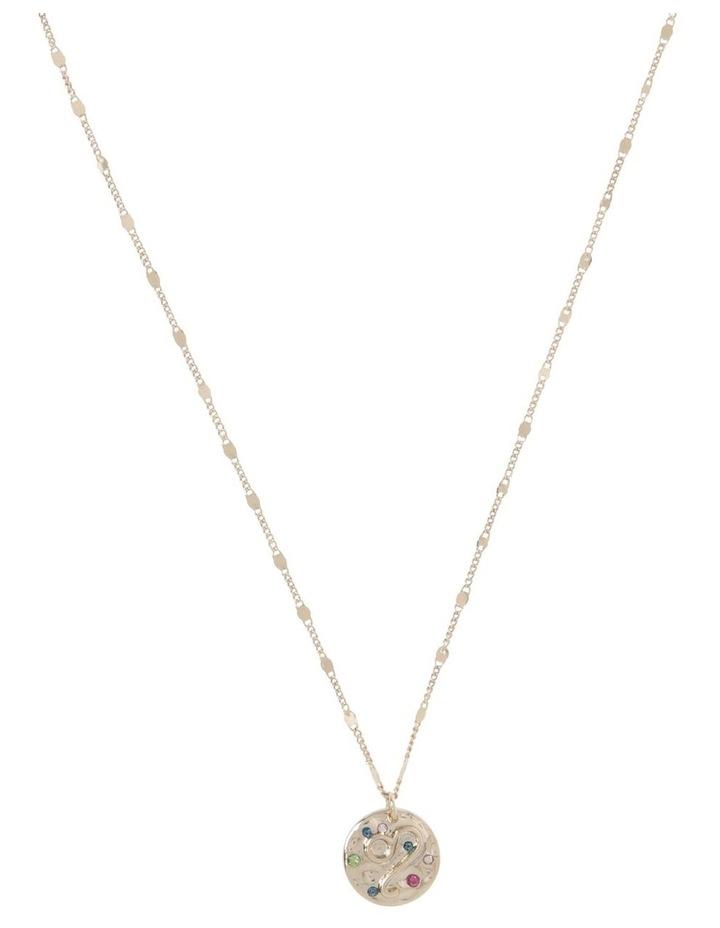 Zodiac Pendant Necklace - Leo image 1