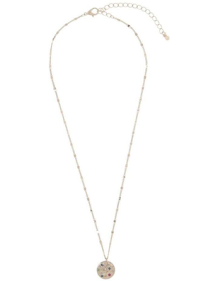 Zodiac Pendant Necklace - Leo image 2