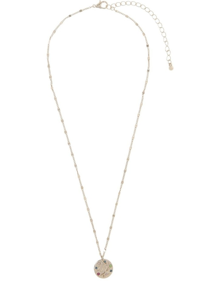 Zodiac Pendant Necklace - Virgo image 2