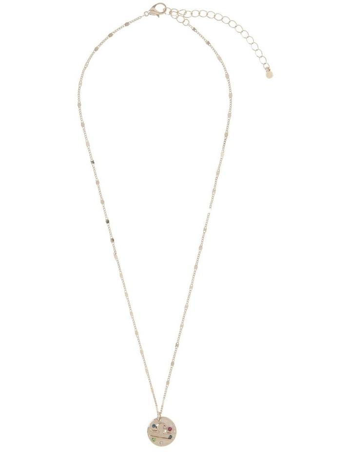 Zodiac Pendant Necklace - Libra image 1
