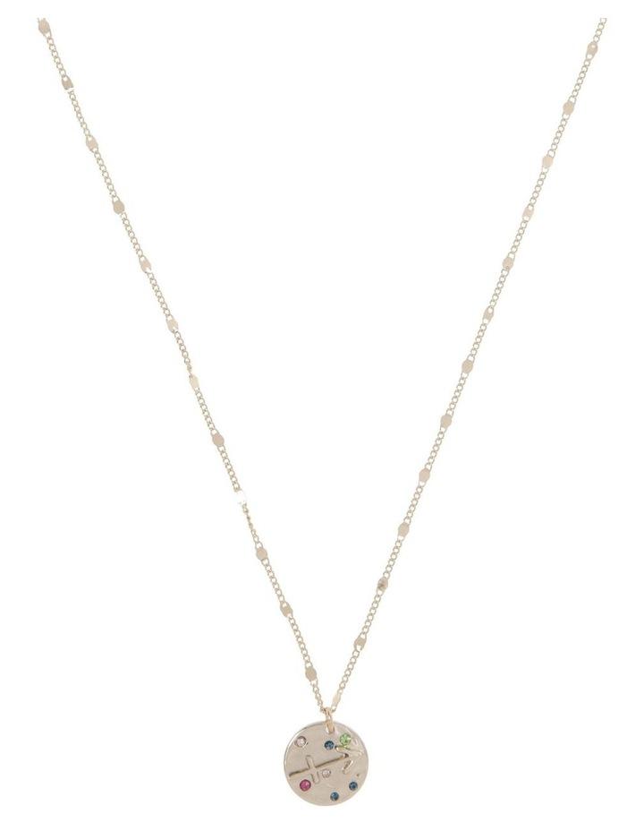 Zodiac Pendant Necklace - Sagittarius image 1