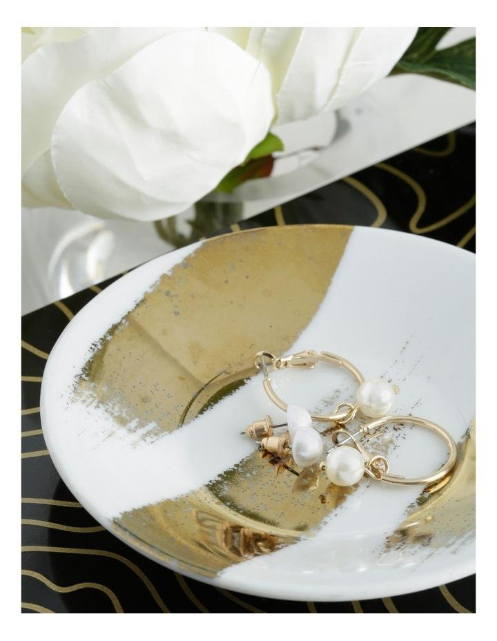 Mini Pearl Hoops & Pearl Stud 2 Pack Earrings image 3
