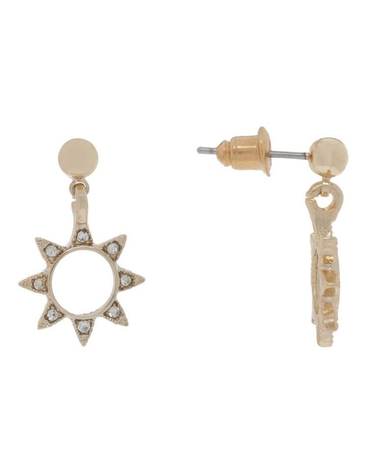 Mini Sunburst Stud Earrings image 2
