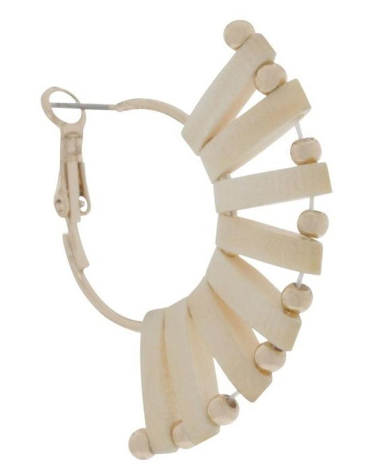 Mini Woven Fan Earrings image 2