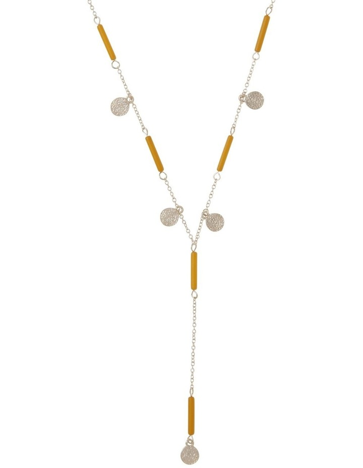 Beaded Lariat Necklace image 1