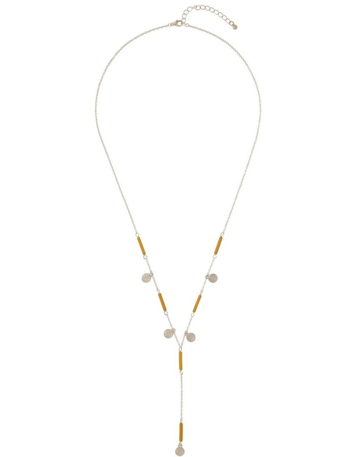 Beaded Lariat Necklace image 2