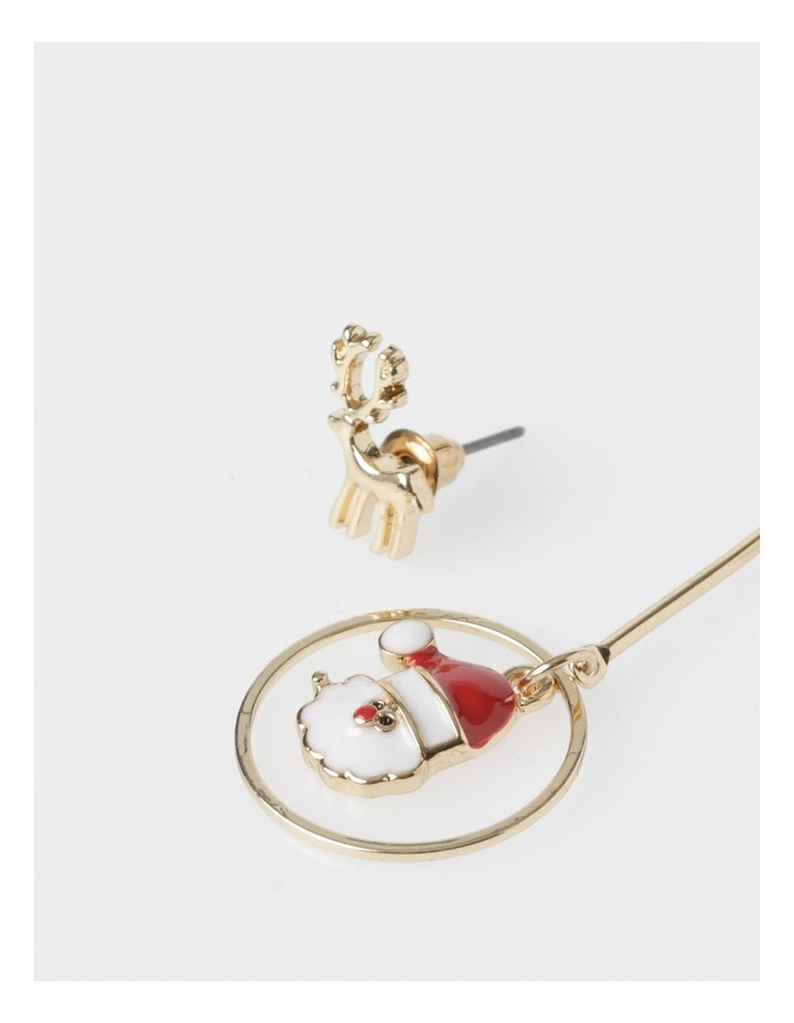 Reindeer & Santa Earring 2Pk Earrings image 3