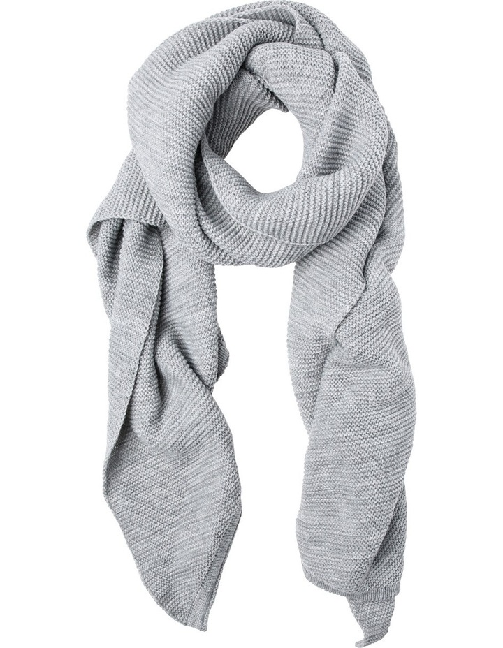 Small Ribbed Sporty Scarf image 1