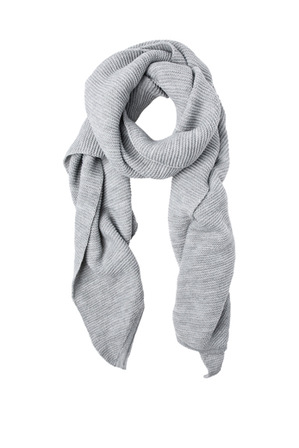 Miss Shop - Small Ribbed Sporty Scarf DL-AW134