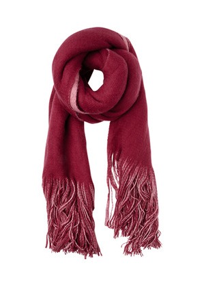 Miss Shop - Soft Reversible Knit Scarf MSS0268