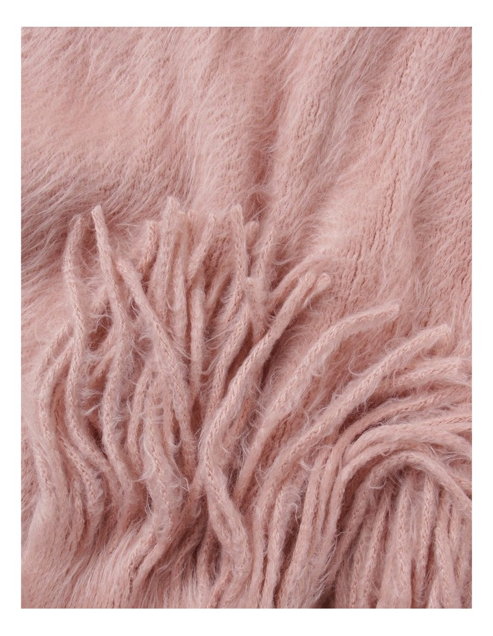 Plain Fluffy  Winter Scarf image 2