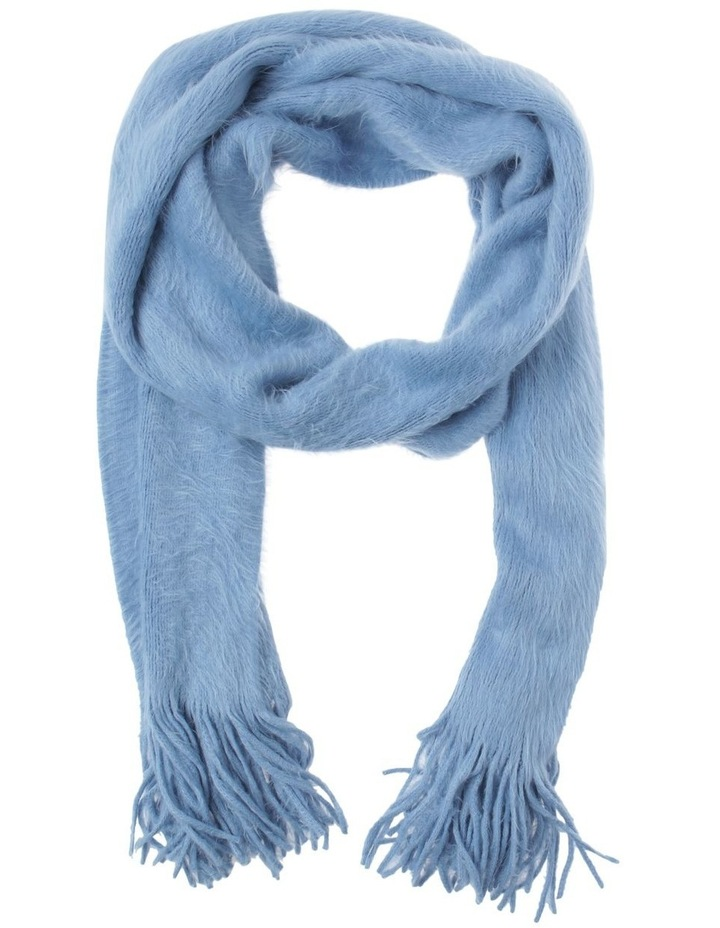 Plain Fluffy  Winter Scarf image 1