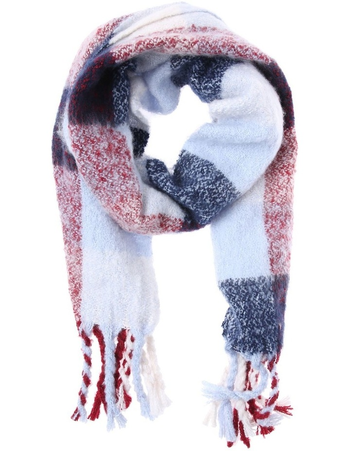Check Boucle Winter Scarf image 1