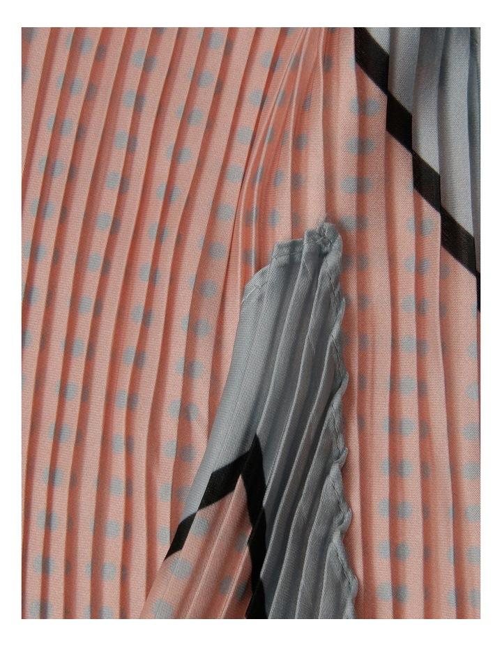 Polka Dot Pleated Neckerchief image 2