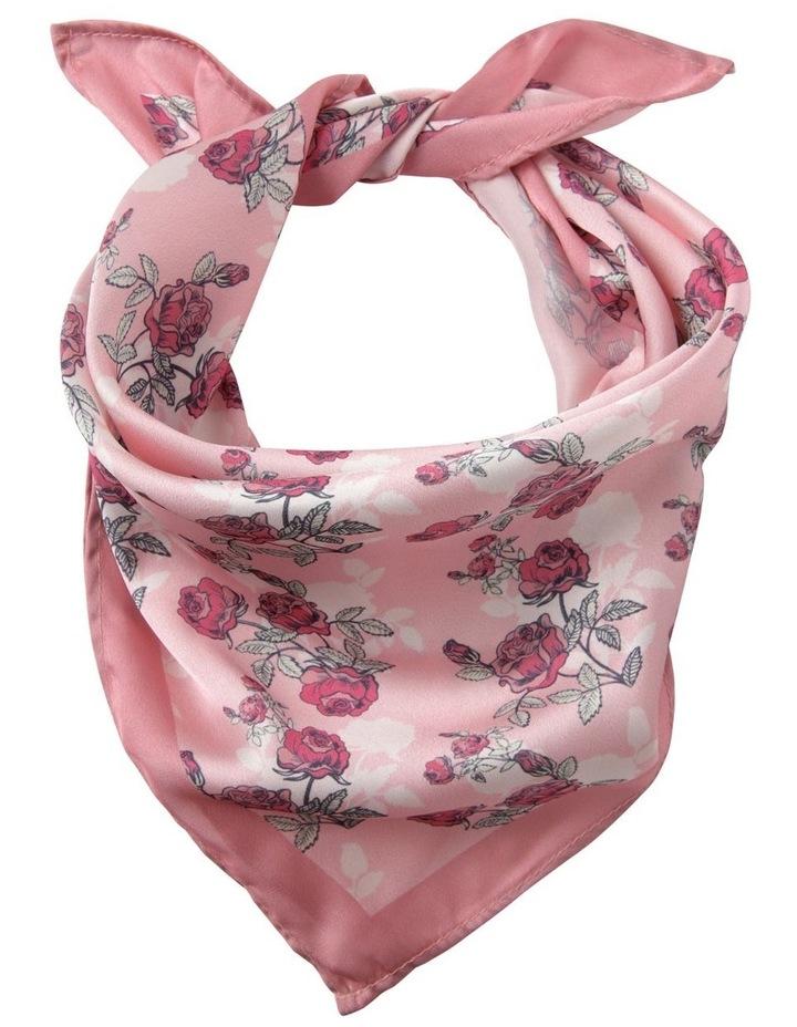 Rose Print Floral Neckerchief image 1