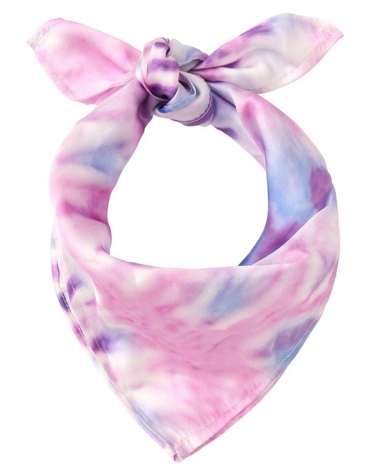Tie Dye Neckerchief Scarf image 1