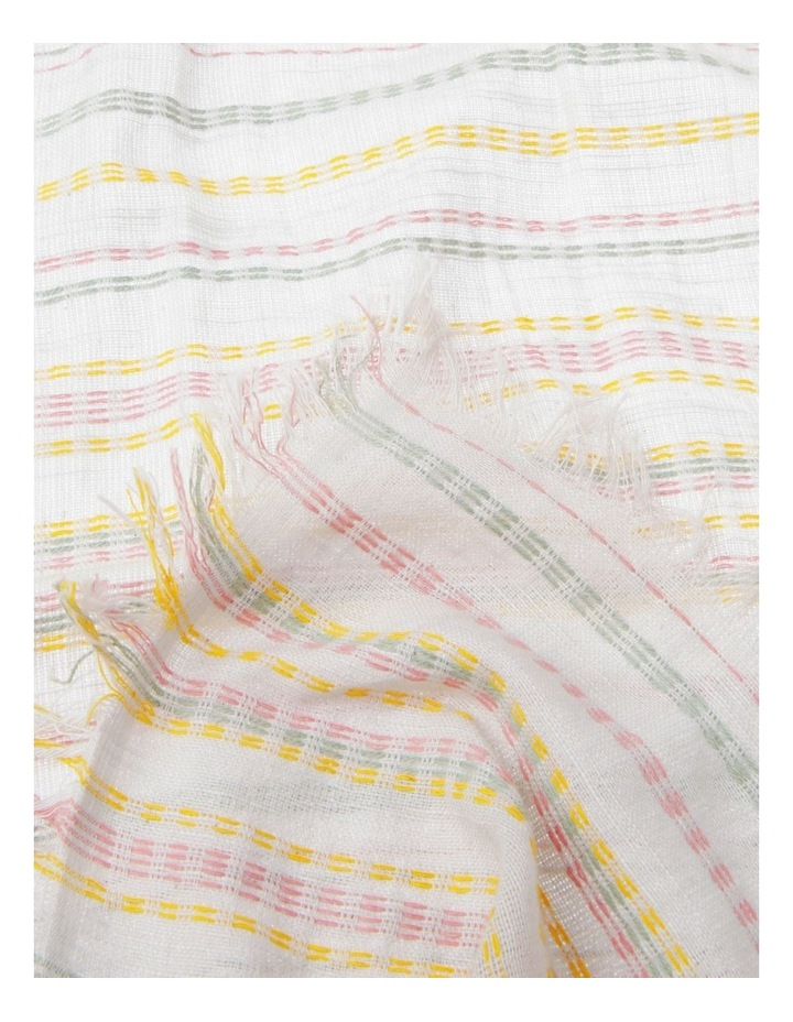 Dashes Striped Scarf image 2
