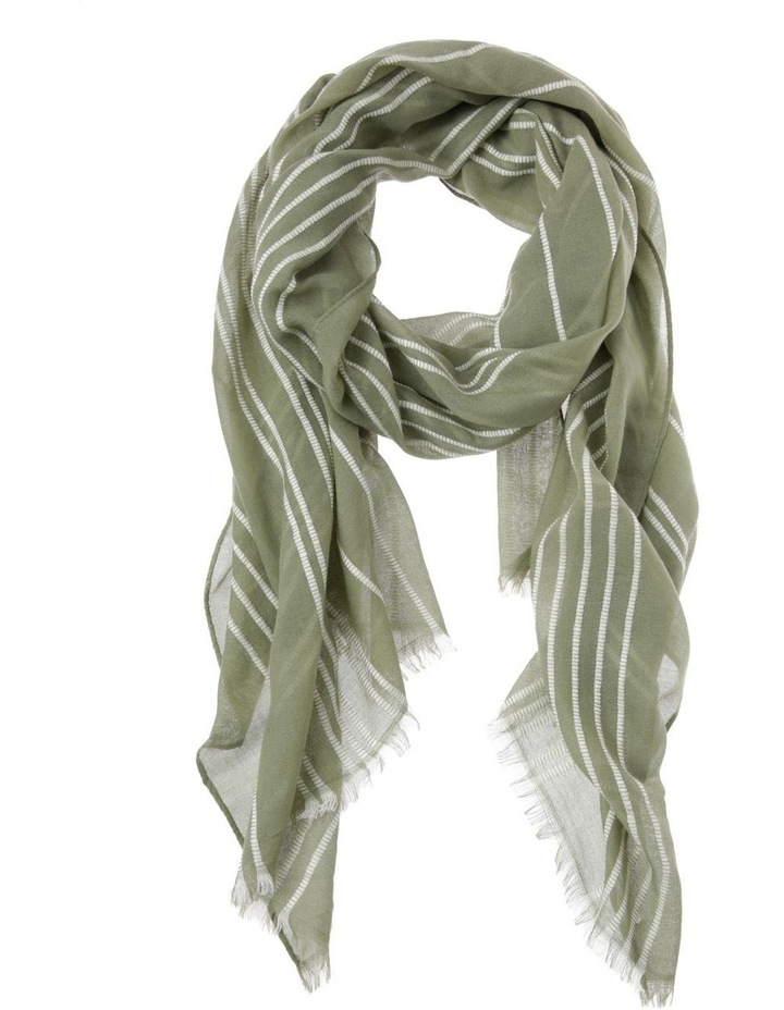 Striped Scarf image 1