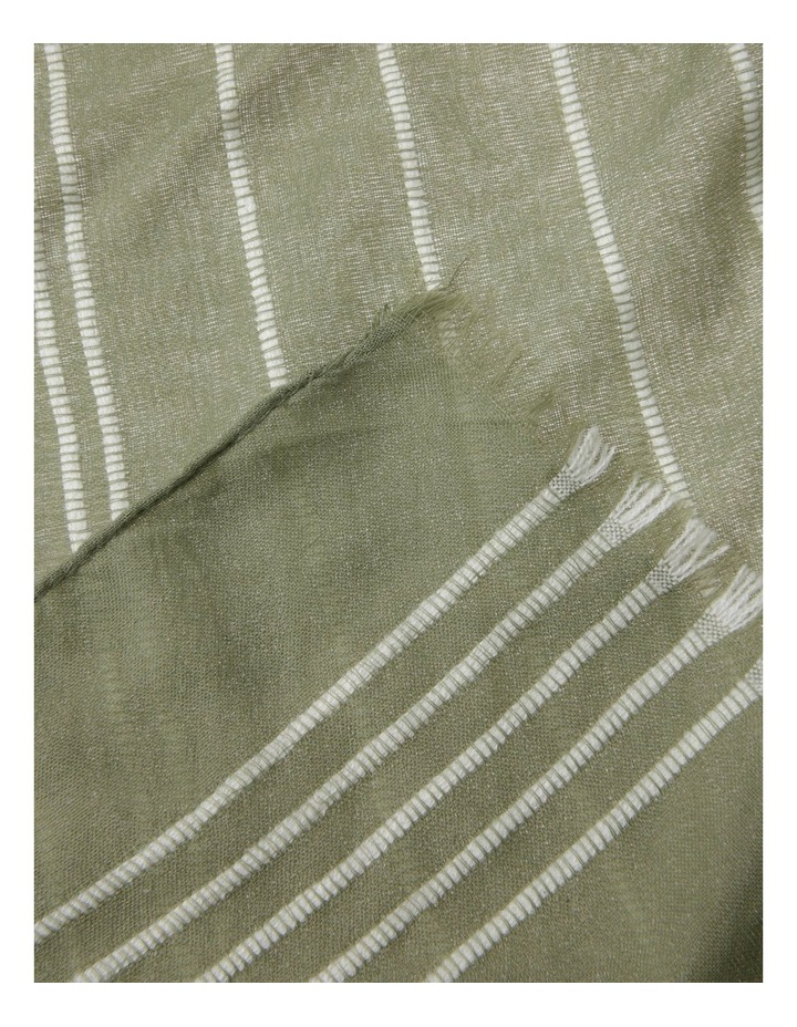 Striped Scarf image 2