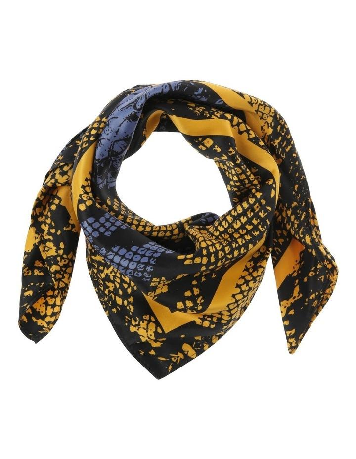 Python Neckerchief Scarf in Mustard image 1