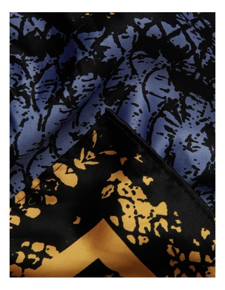 Python Neckerchief Scarf in Mustard image 2