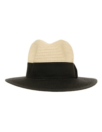 0077e29bc45 Miss Shop Colour Block Fedora