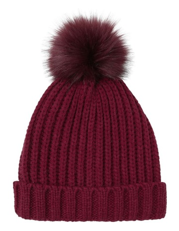 550f14062 Miss ShopTrend Pom-Pom Beanie Winter Hats. Miss Shop Trend Pom-Pom Beanie  Winter Hats