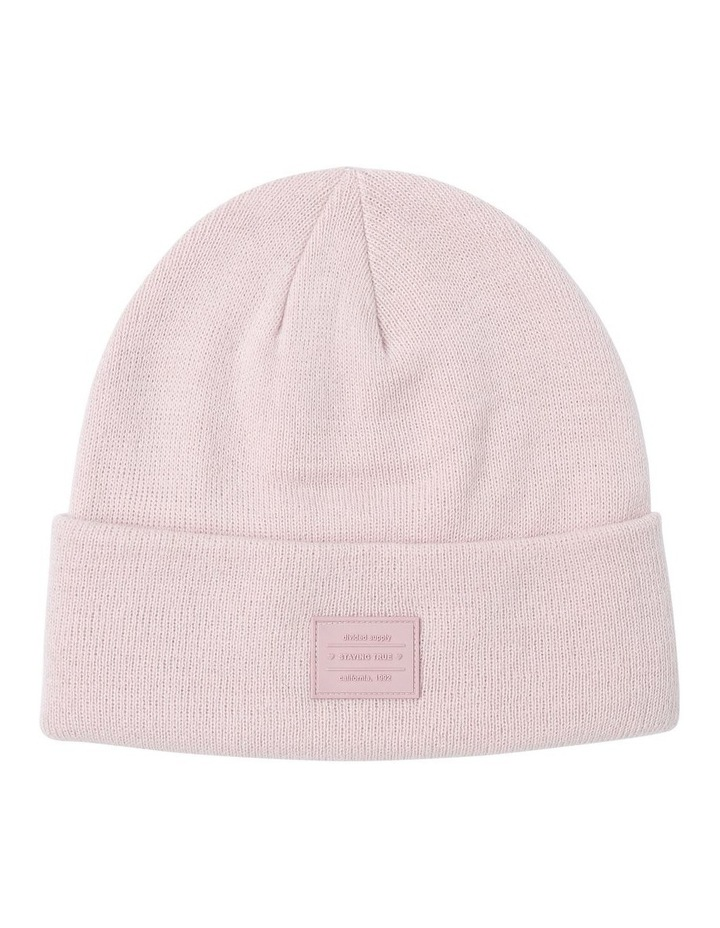Turn Up Beanie with Logo Winter Hats image 1