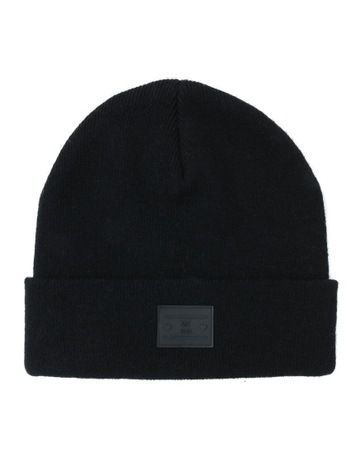 bf564e0c7f2 Miss ShopTurn Up Beanie with Logo Winter Hats. Miss Shop Turn Up Beanie  with Logo Winter Hats