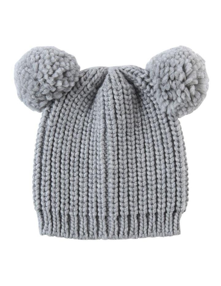 Pom Pom Ears Beanie Summer Hats image 1