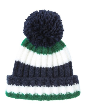 929fb98084025 Miss ShopMulti Colour Stripe Beanie Winter Hats. Miss Shop Multi Colour  Stripe Beanie Winter Hats