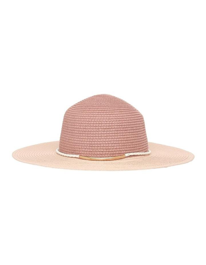 Metal & Braid Trim Floppy Hat image 2