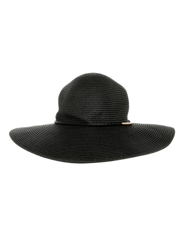 Metal & Braid Trim Floppy Hat image 1