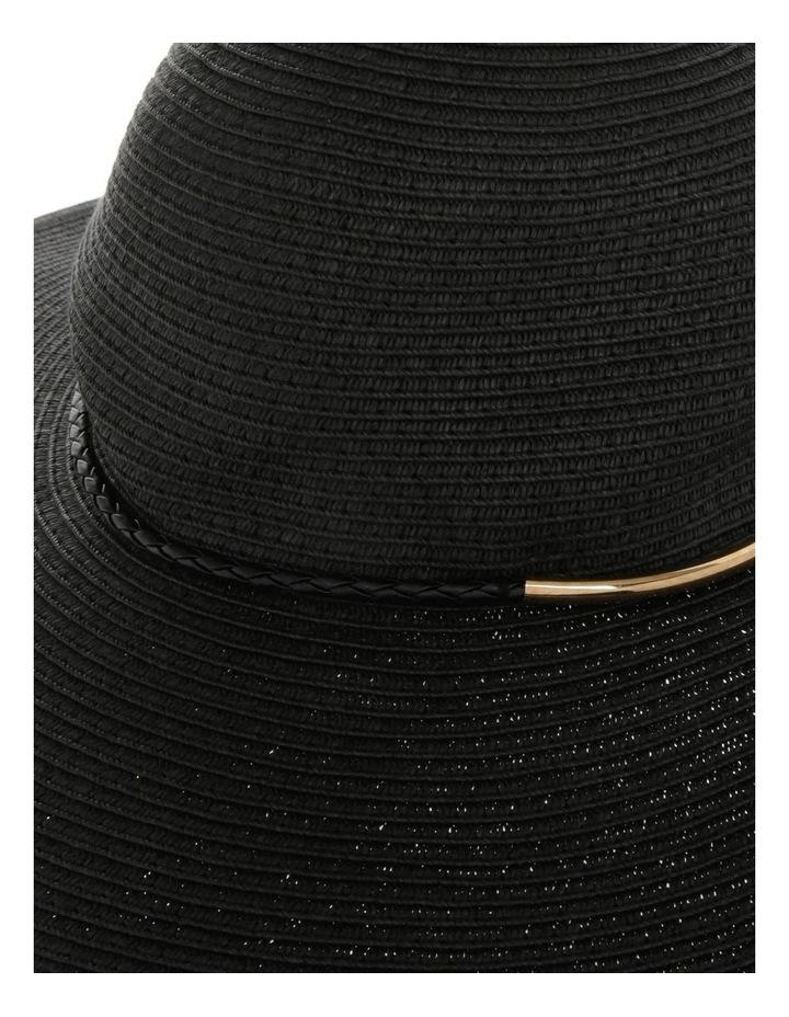 Metal & Braid Trim Floppy Hat image 3