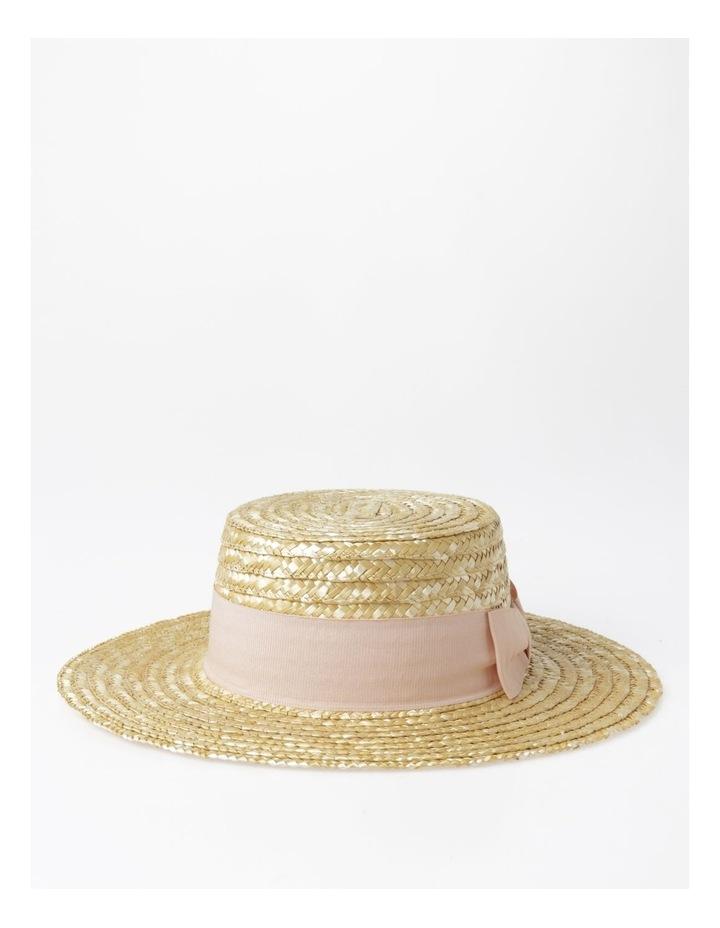 Wide Brim Boater Hat image 1