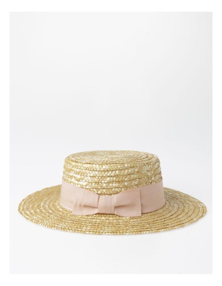 Wide Brim Boater Hat image 2