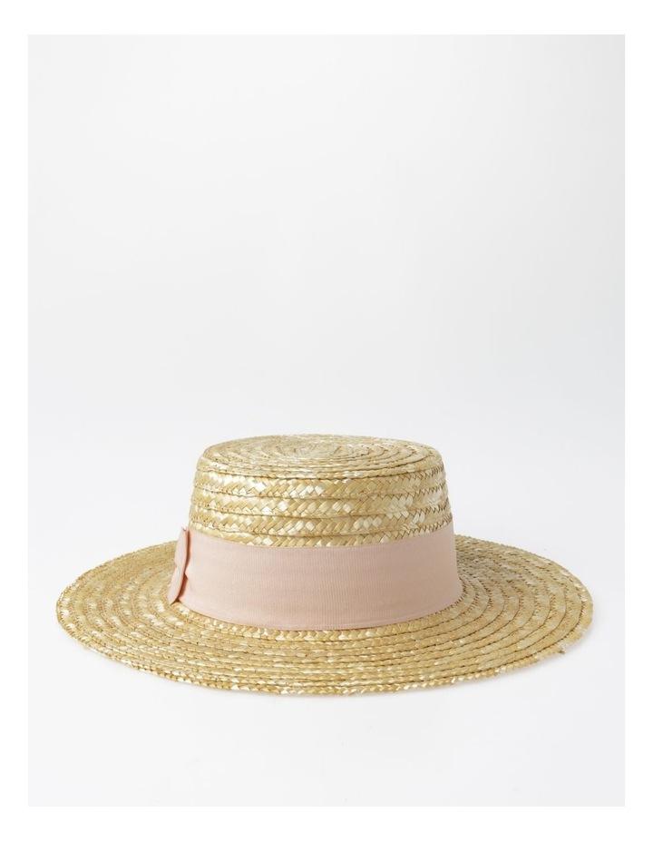 Wide Brim Boater Hat image 3