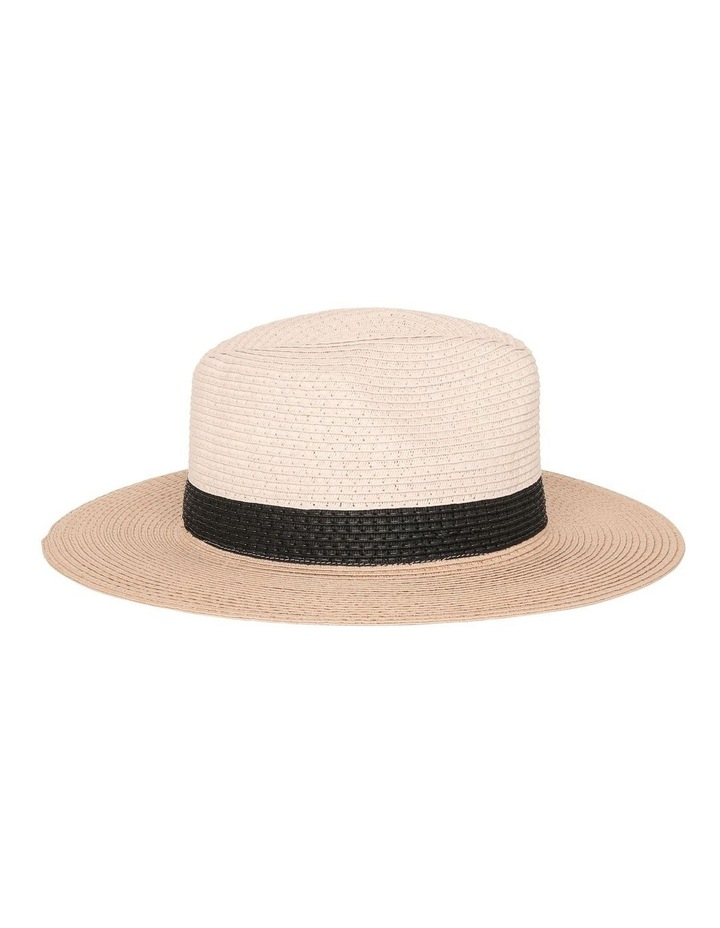 Colourblock Fedora Hat image 2