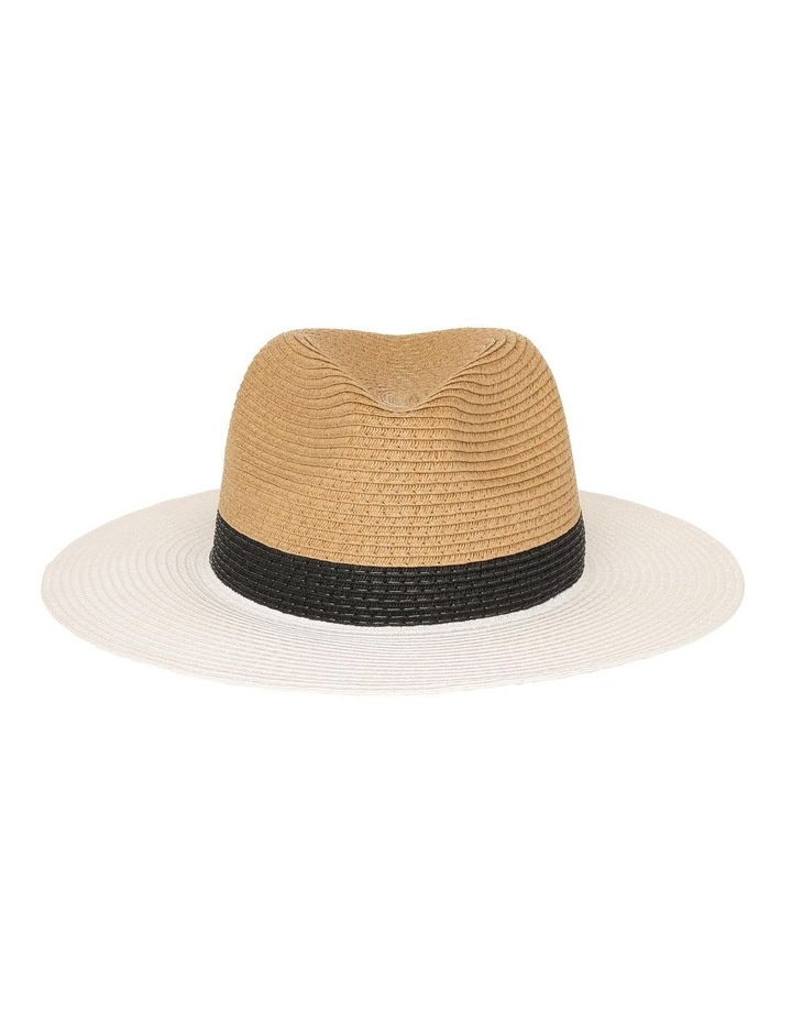 Colourblock Fedora Hat image 1