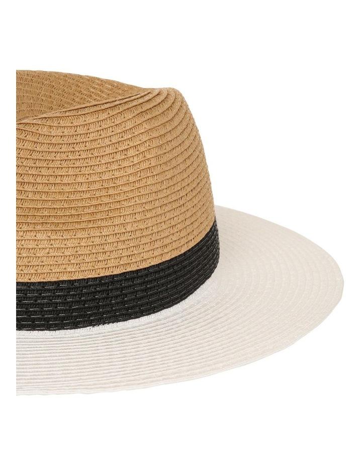 Colourblock Fedora Hat image 4