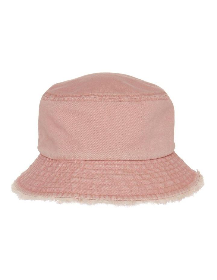 Frayed Edge Bucket Hat - Blush image 1