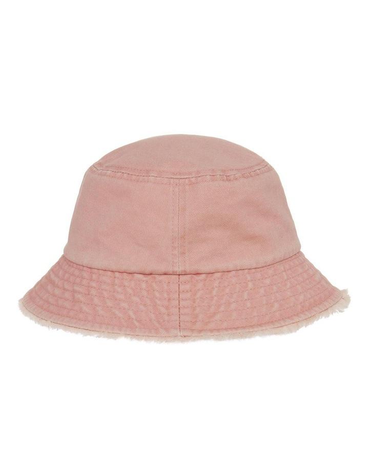 Frayed Edge Bucket Hat - Blush image 2