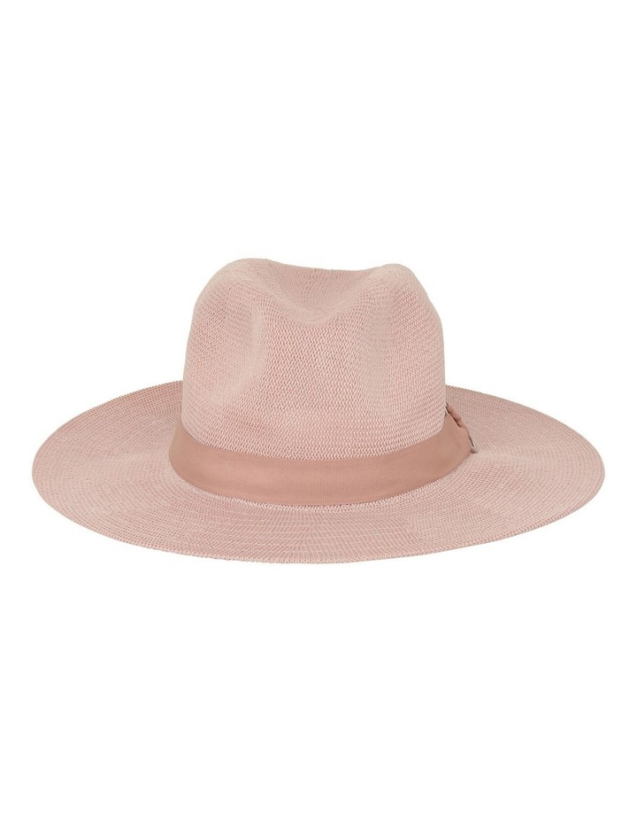 Fabric Fedora With Ring Detail Hat image 1