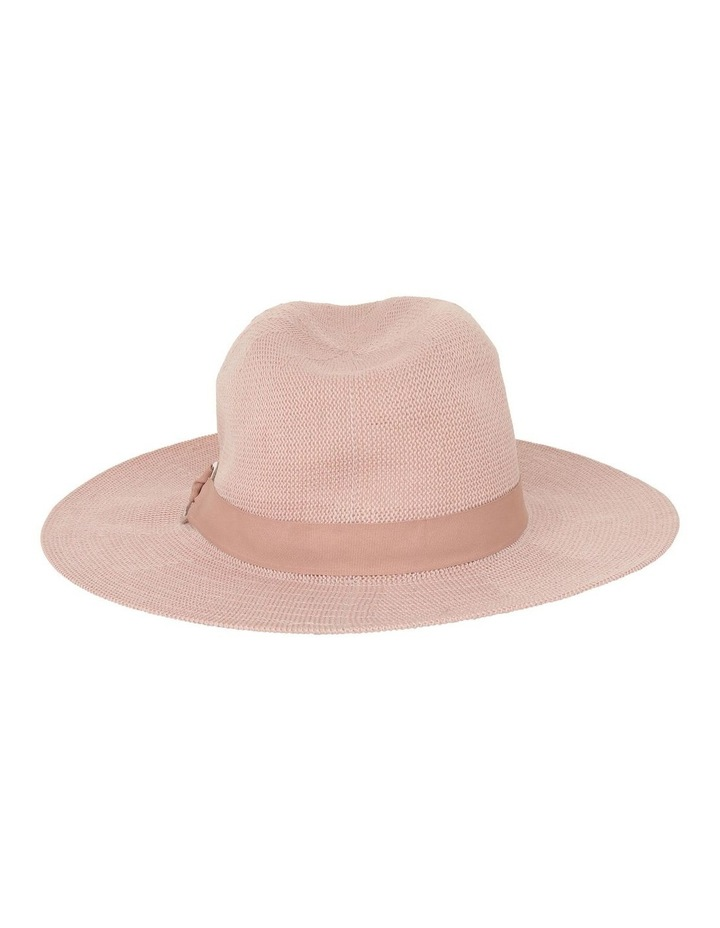 Fabric Fedora With Ring Detail Hat image 3