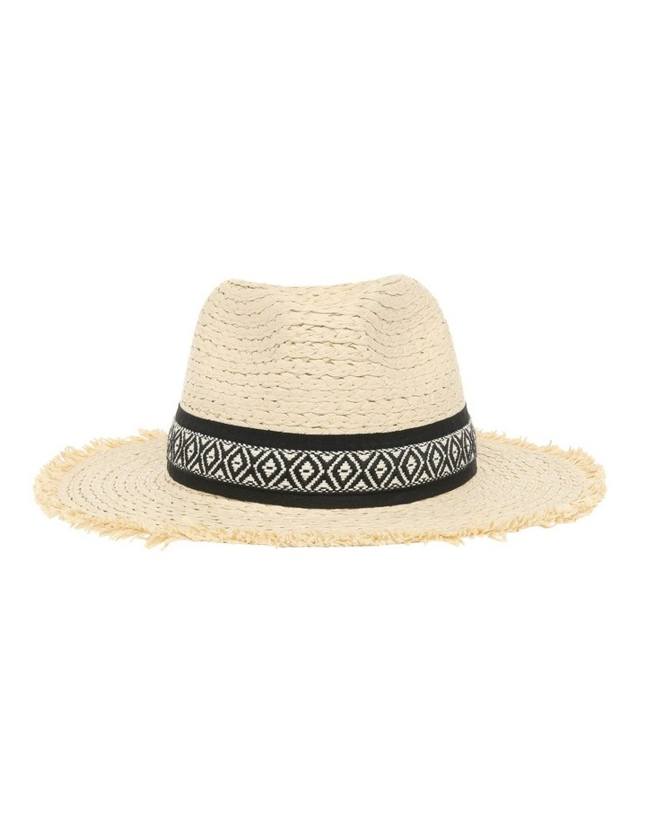 Fedora With Aztec Detail Trim image 1