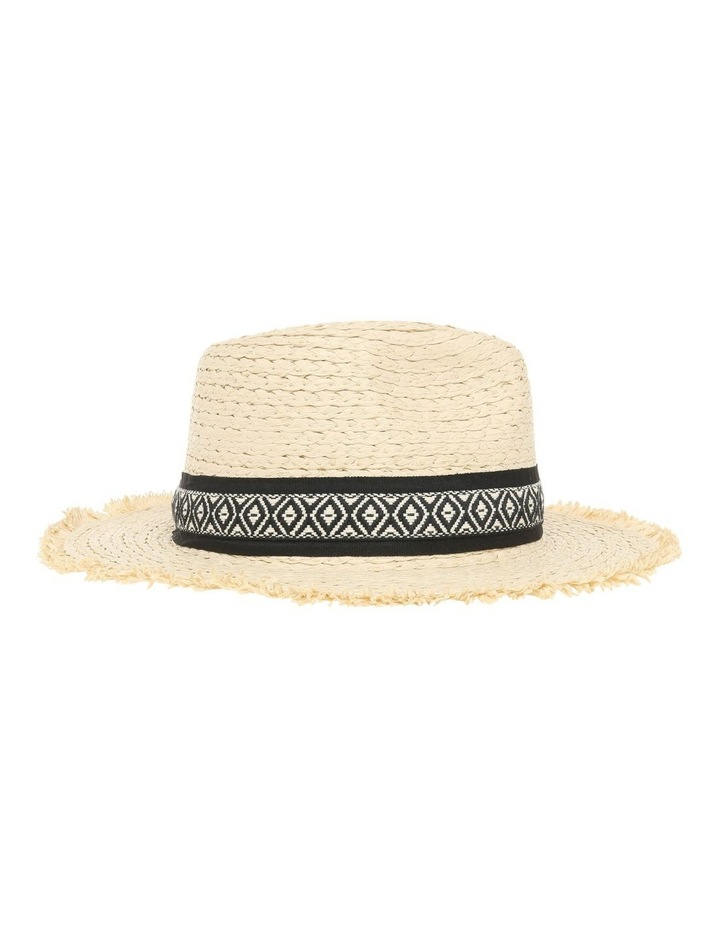 Fedora With Aztec Detail Trim image 2