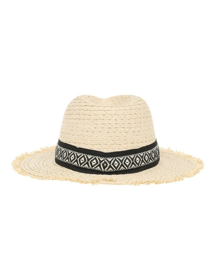 Fedora With Aztec Detail Trim image 3