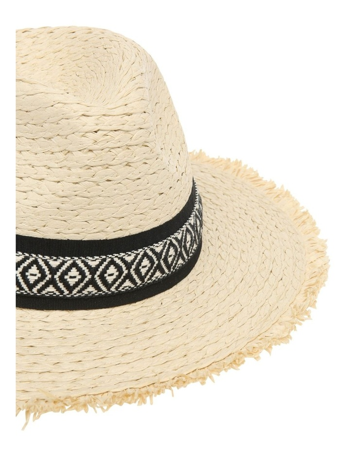 Fedora With Aztec Detail Trim image 4